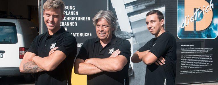 Wir übernehmen als Werbetechnik in Ravensburg auch Ihr Projekt